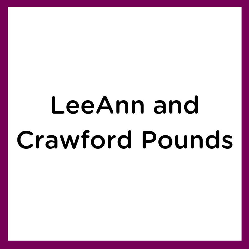 LeeAnn and Crawford Pounds